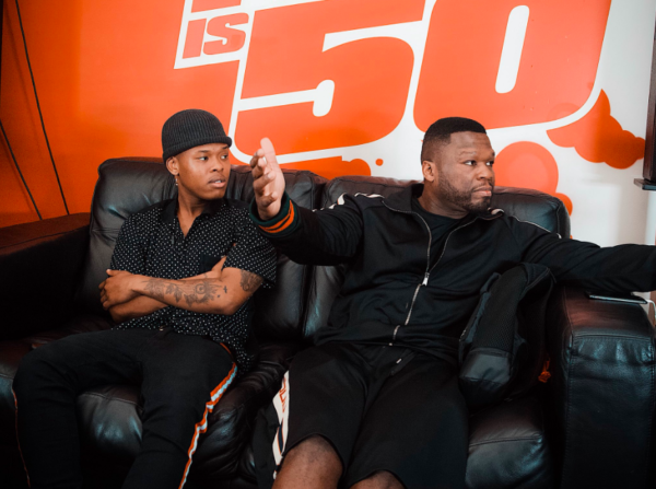 Nasty C Hangs With 50 Cent Fakaza News