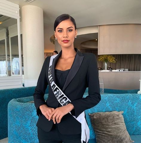 Watch Tamaryn Green live at the 2018 Miss Universe beauty
