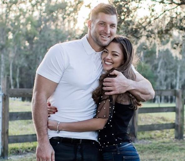 Tim Tebow and Demi Leigh