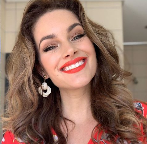 Check out Rolene Strauss baby bump in 32 weeks