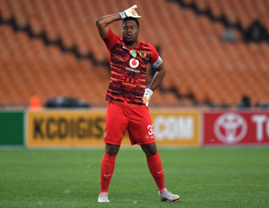 Fans criticise Khune for Chiefs' heavy loss to Sundowns