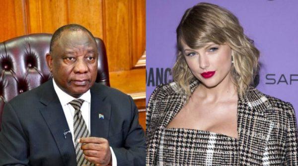 Cyril Ramaphosa – Taylor Swift